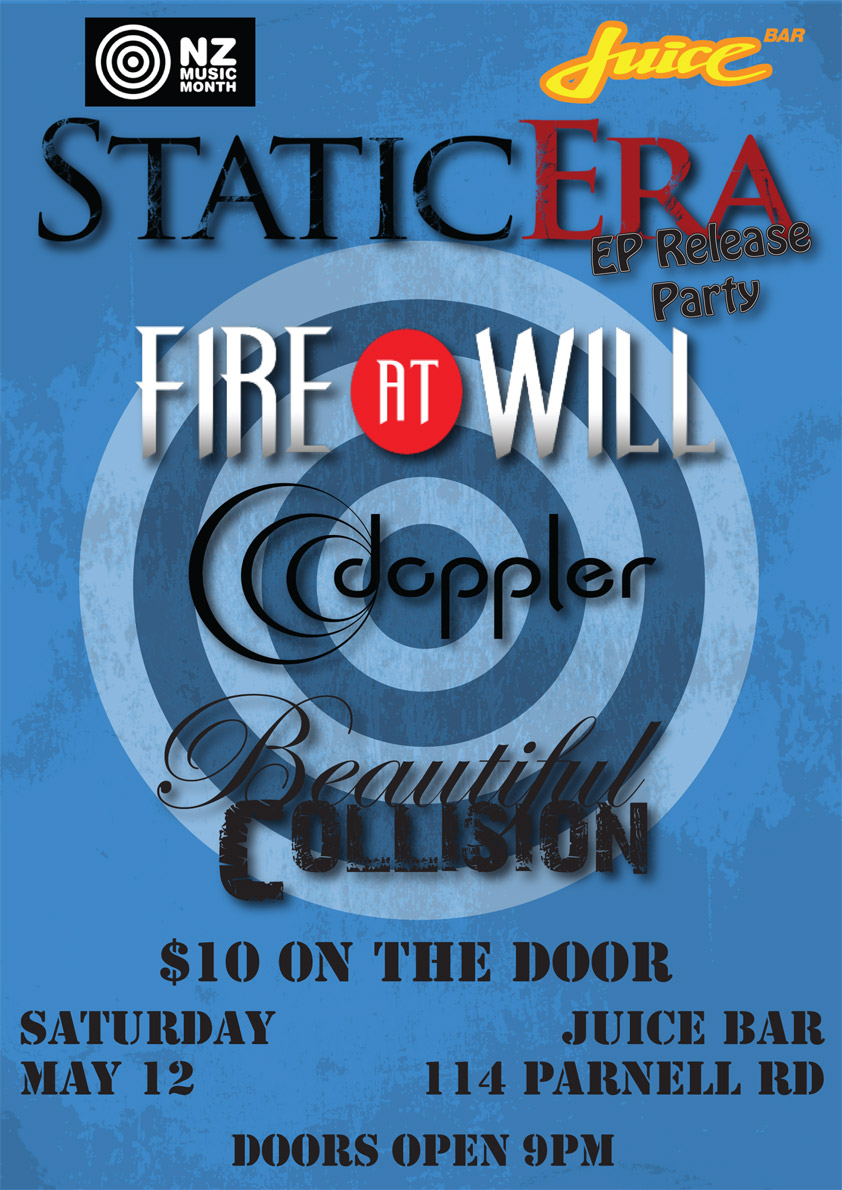 Static Era EP/Video Release Party 12 May 2012