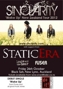 Static Era at Black Salt Bar 26 October 2012