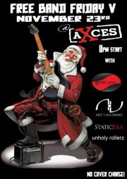 Static Era at Axces Bar, Hamilton 23 November 2012