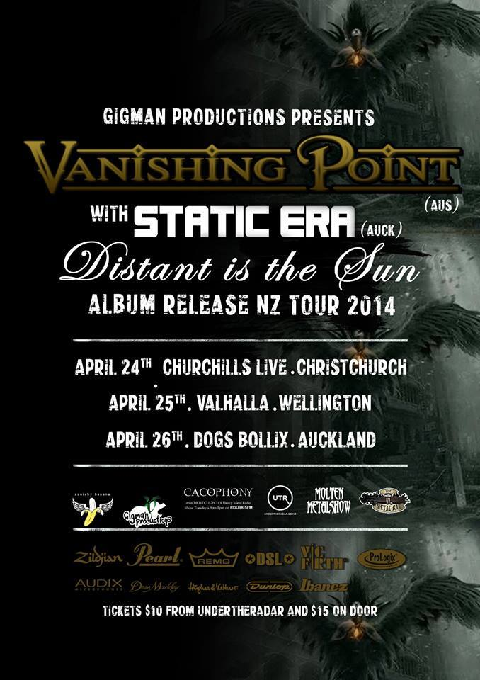 Static Era with Vanishing Point tour